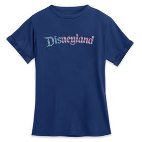 Disney Disneyland Americana Fashion Tee for Women