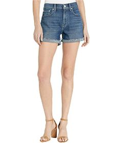Lucky Brand Mid-Rise Relaxed Shorts in Hot Springs