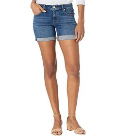 Lucky Brand Mid-Rise Roll Up Shorts in Spanish