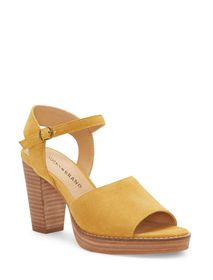 Lucky Brand Nanika Leather High Heel