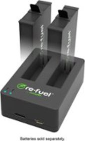 Digipower - Dual Battery Charger for GoPro Fusion