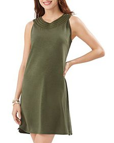 Tommy Bahama - Pearl Embroidered Shift Dress