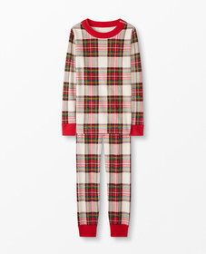 Hanna Andersson Long John Pajamas In Organic Cotto