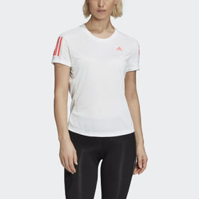 Adidas Women's Running White Own the Run Tee