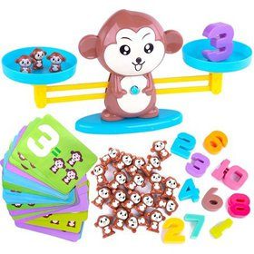 More Counting Numbers and Monkey Balance Cool Math