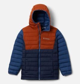 Columbia Boys' Powder Lite™ Hooded Jacket