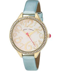 Betsey Johnson Metallic Motion Watch