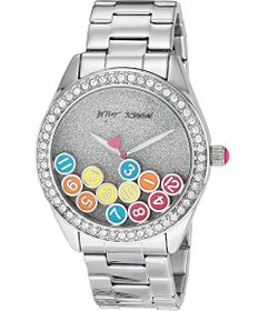 Betsey Johnson Falling Through Time Watch