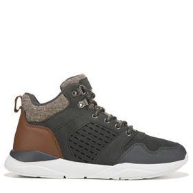 Perry Ellis Kids' Brady Hiker Sneaker Boot Pre/Gra
