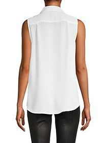 Tommy Hilfiger Pleated Sleeveless Top