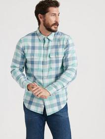 Lucky Brand Clean Two Pocket Workwear Long Sleeve