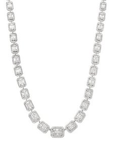 Bloomingdale's - Diamond Mosaic Statement Necklace
