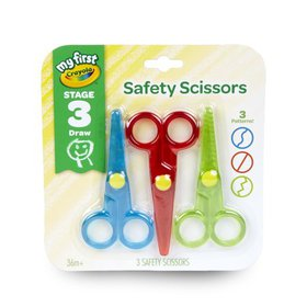 Crayola My First Safety Scissors Designed for Pres