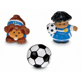 Fisher-Price Little People Soccers, Includes two s