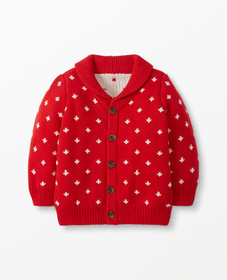 Hanna Andersson Winter Celebration Cardigan