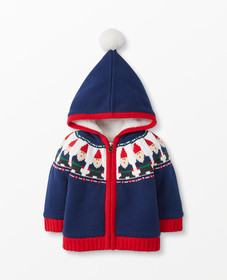 Hanna Andersson Gnome Sweet Gnome Sweater Jacket