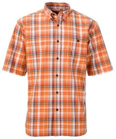 RedHead Poplin Plaid Woven Short-Sleeve Shirt for