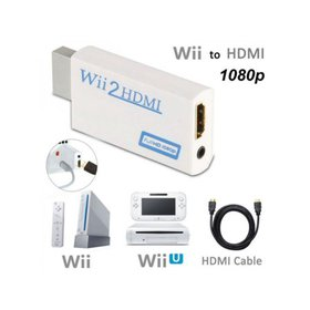 WII To HDMI Adapter + 1.5M HDMI Cable