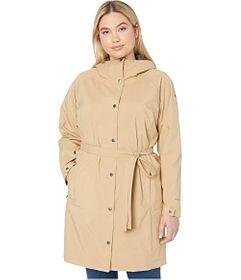 Columbia Plus Size Here and There™ Long Trench Jac