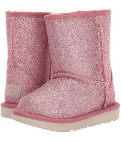UGG Kids Classic Short II Glitter (Toddler/Little