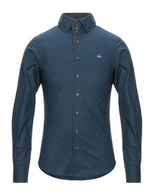 VIVIENNE WESTWOOD - Solid color shirt