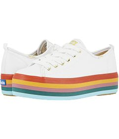 Keds Triple Up Rainbow Foxing