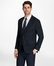 Brooks Brothers Regent Fit Herringbone Knit Sport