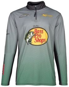Bass Pro Shops 1/4-Zip Fishing Jersey Pullover for