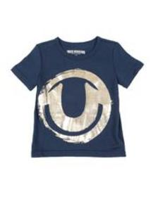 True Religion painted hs logo tee (2t-4t)