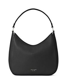 kate spade new york - Roulette Large Pebbled Leath