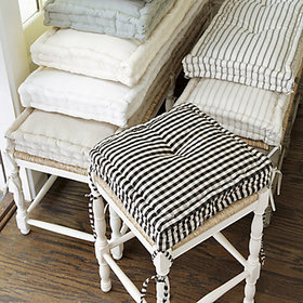 Essential Farmhouse Cushion - Select Colors
