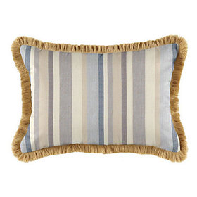 Fringed Pillow 12 inch x 20 inch - Select Colors