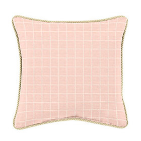 Corded Pillow - 16 inch square - Select Colors