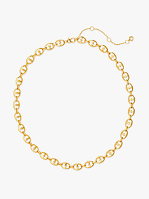Kate Spade duo link collar necklace