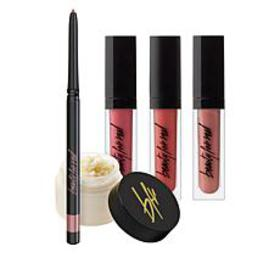 Beauty For Real Soft Neutrals Lip Wardrobe 5-piece