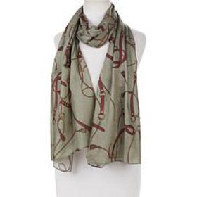 """As Is"" IMAN Global Chic Printed Scarf"
