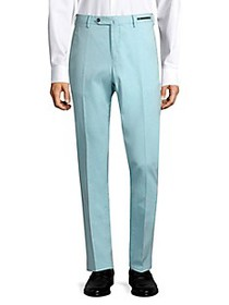 PT01 Easy-Fit Stretch Flat-Front Trousers