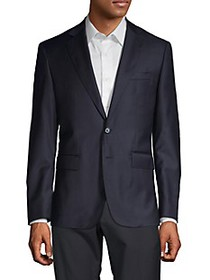 Components by JM Solid Wool Blazer
