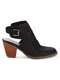 Cole Haan Pippa Open Back Leather Booties