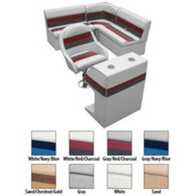 Deluxe Pontoon Furniture w/Classic Base - Rear Gro