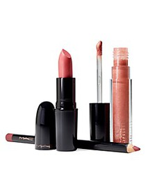 MAC ​Starlit 3-Piece Neutral Lip Bag - $64 Value