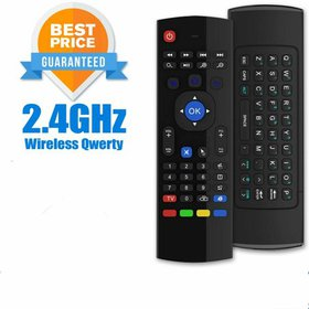 Air Remote Mouse MX3 ,2.4G Backlit Remote Control,