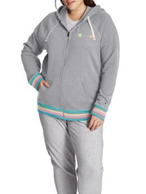 Champion Women's Plus Size Campus French Terry Zip