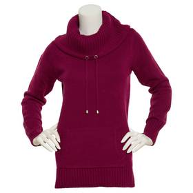 Womens Preswick & Moore Long Sleeve Cowl Neck Soli