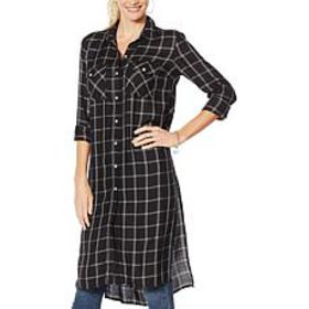 """As Is"" Jessica Simpson Lori Button Down Plaid Dus"