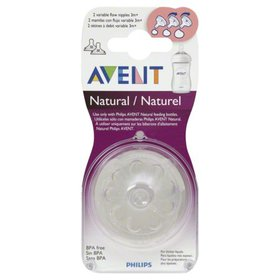 Philips Avent Natural Variable Flow Nipples 3m+, 2