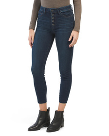 SAM EDELMAN The Stiletto Exposed Button Fly Jeans