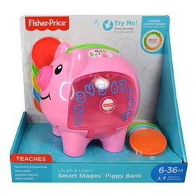 Fisher Price DP EC Laugh & Learn Piggy Bank