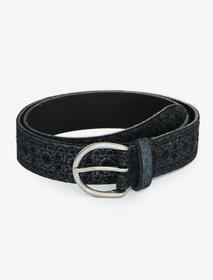 Lucky Brand Floral Metallic Belt