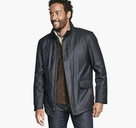 Johnston Murphy Heathered Jacket